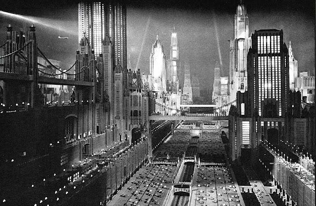 a 1930 vision of the future in 1980, retrofuture