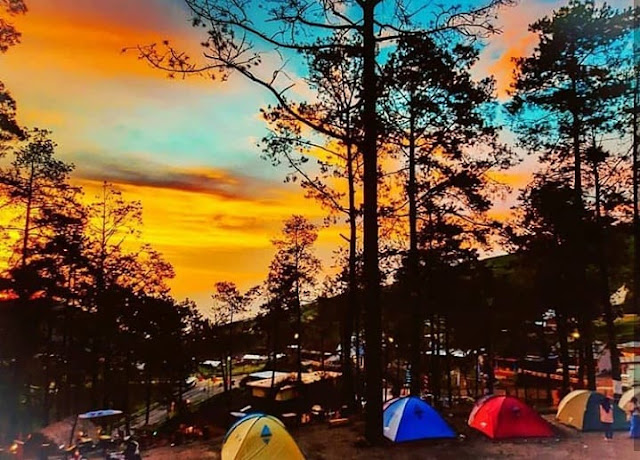 camping ground the lawu park