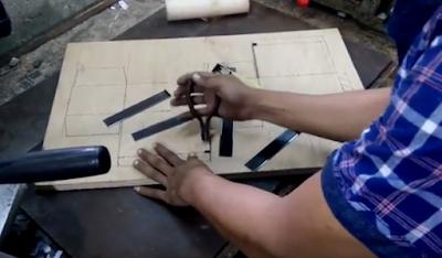 Cara Membuat Pisau Pond Kertas Manual