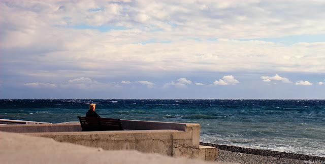 Ветер на Черном море
