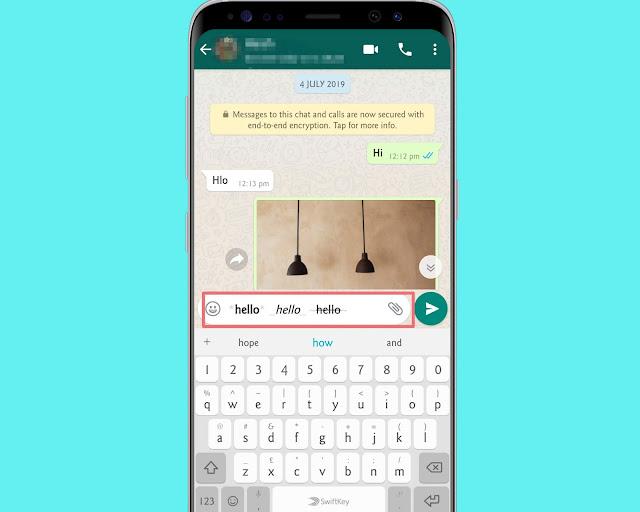 Format Text On Whatsapp - WhatsApp tricks