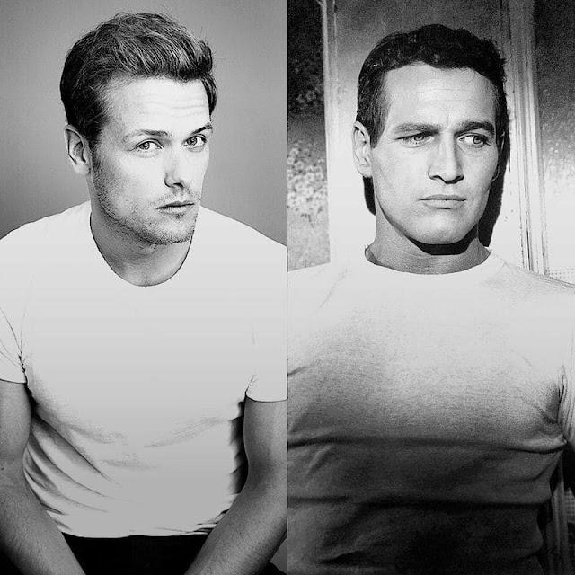 """Sam Heughan será Paul Newman en """"Una vida inquieta"""""""