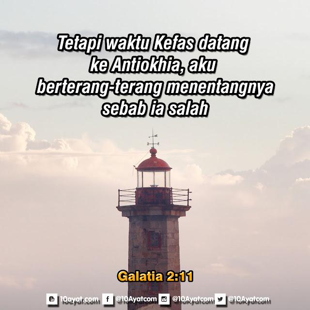 Galatia 2:11