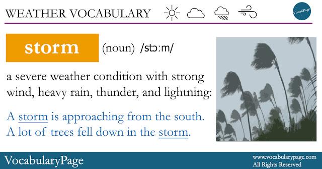 Storm Definition