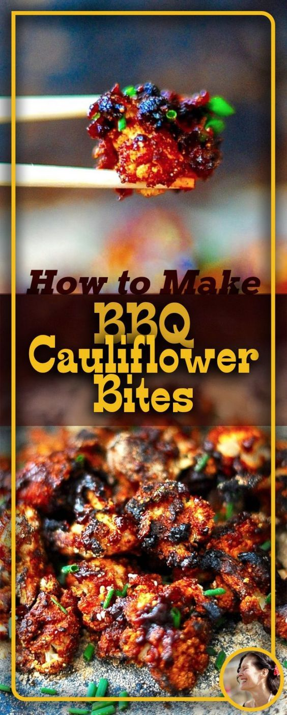 Feeling low? Trying to resist that bag of bbq potato chips on the shelf? Reach for a head of cauliflower instead. Toss it in my easy peasy punched up store bought Bbq sauce, and bake until you have little golden nuggets of guilt free cauliflower crack. Baked Bbq Cauliflower Bites will help get you through that bad break up, just like a bag of potato chips will; the difference being that you won't have a 'food hangover' in the morning.