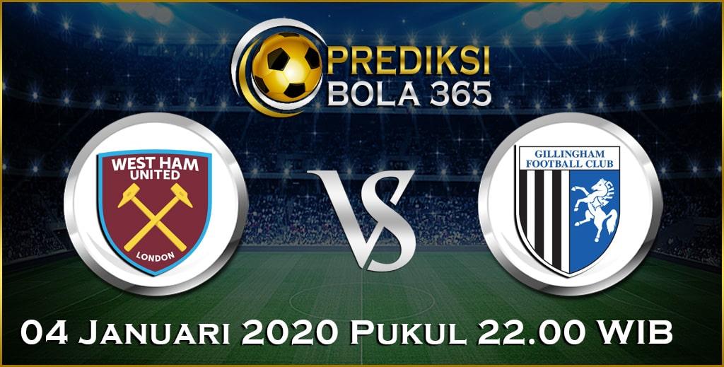 Prediksi Skor Bola Gillingham vs West Ham 04 January 2020 Akurat Hari Ini