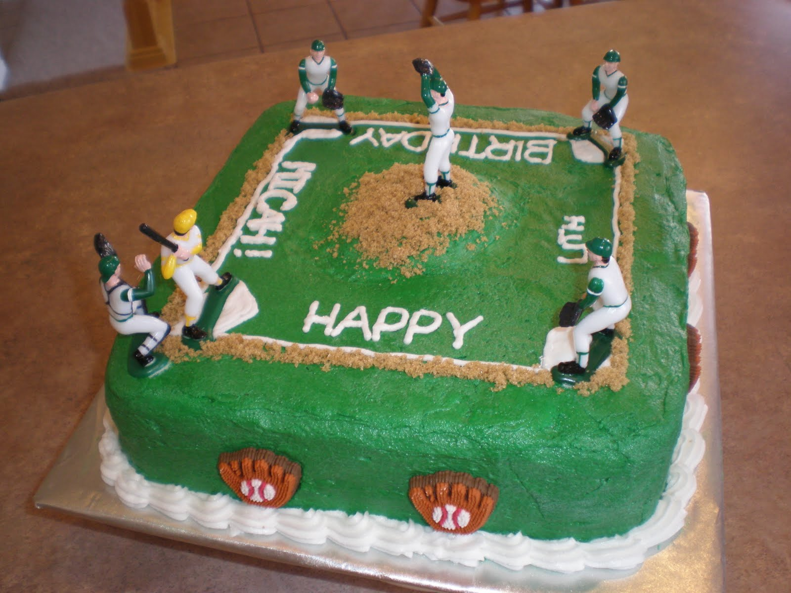 Cartoon Football Cake Decorating