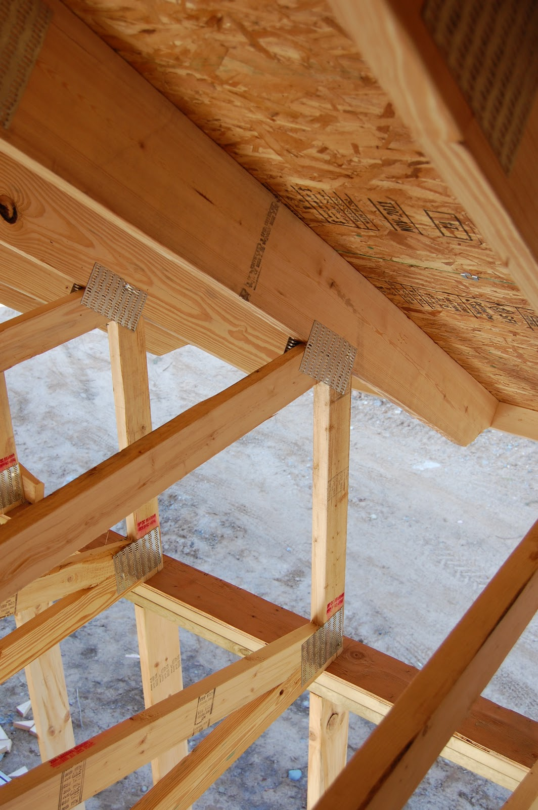 Room In Attic Truss Design: The Sumac Grove: Ready For The Roofer
