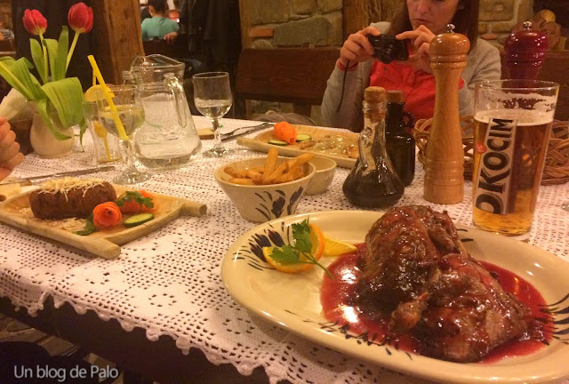 Carne de pato en Cracovia