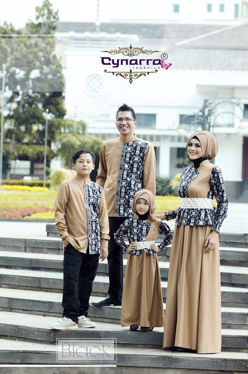 Jual baju hijab couple sarimbit keluarga by cynarra Baju gamis n koko couple