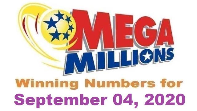 Mega Millions Winning Numbers for Friday, September 04, 2020
