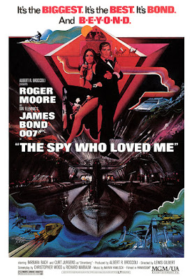 Film poster for The Spy Who Loved Me (1977), portrait format
