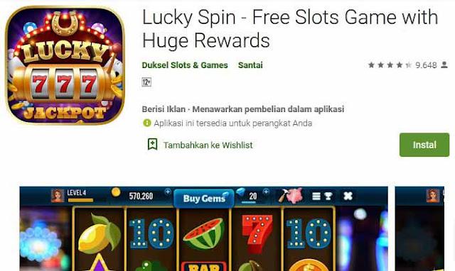 game spin penghasil uang 3