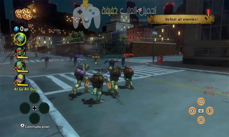 تحميل لعبة TMNT Mutants in Manhattan للكمبيوتر برابط مباشر من ميديا فاير