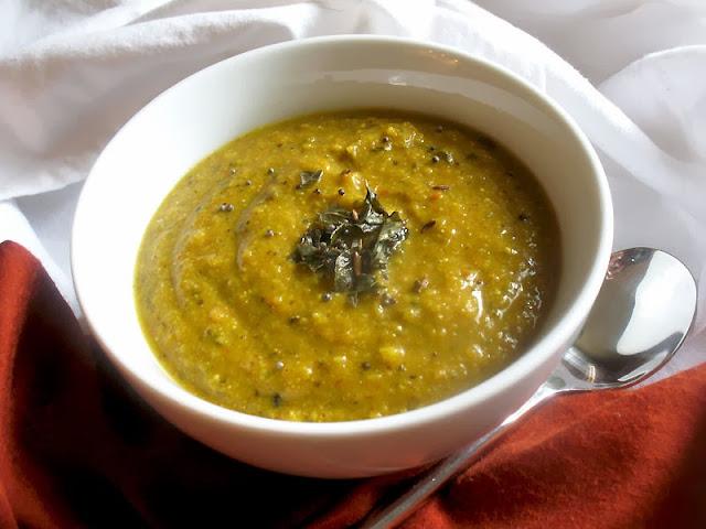 pumpkin carrot Indian soup