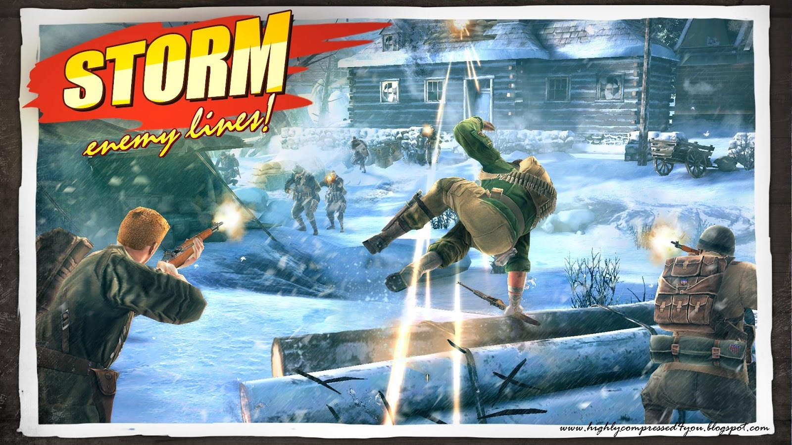 Brothers In Arms 3 Apk+Data Highly Compressed In 464 MB Only