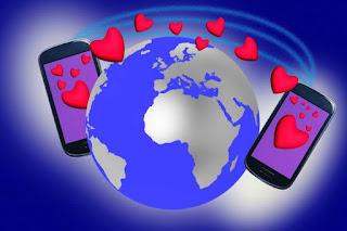 Poème d'amour distance