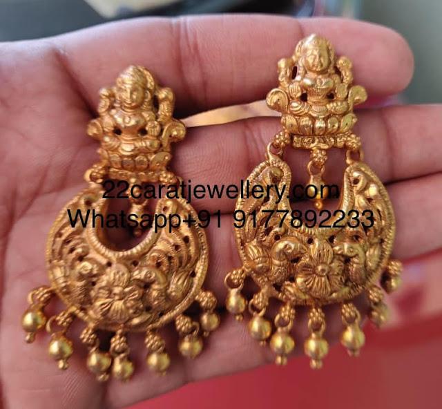 Adorable Ganesh Pendant Earrings