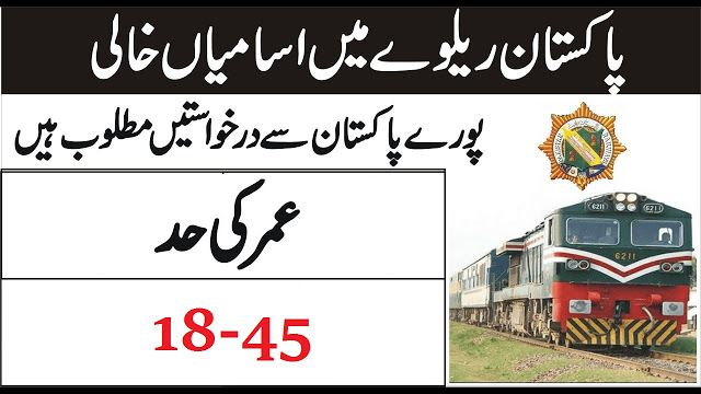 Pakistan Railways Jobs 2020