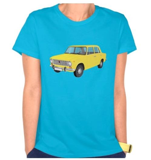 Yellow VAZ-2101 Lada