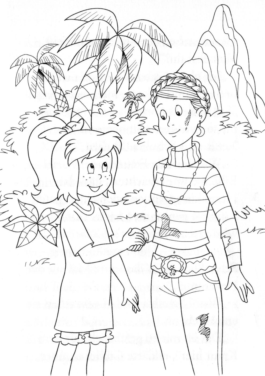 bibi und nastia sind freunde  bibi und schubia aus blocksberg