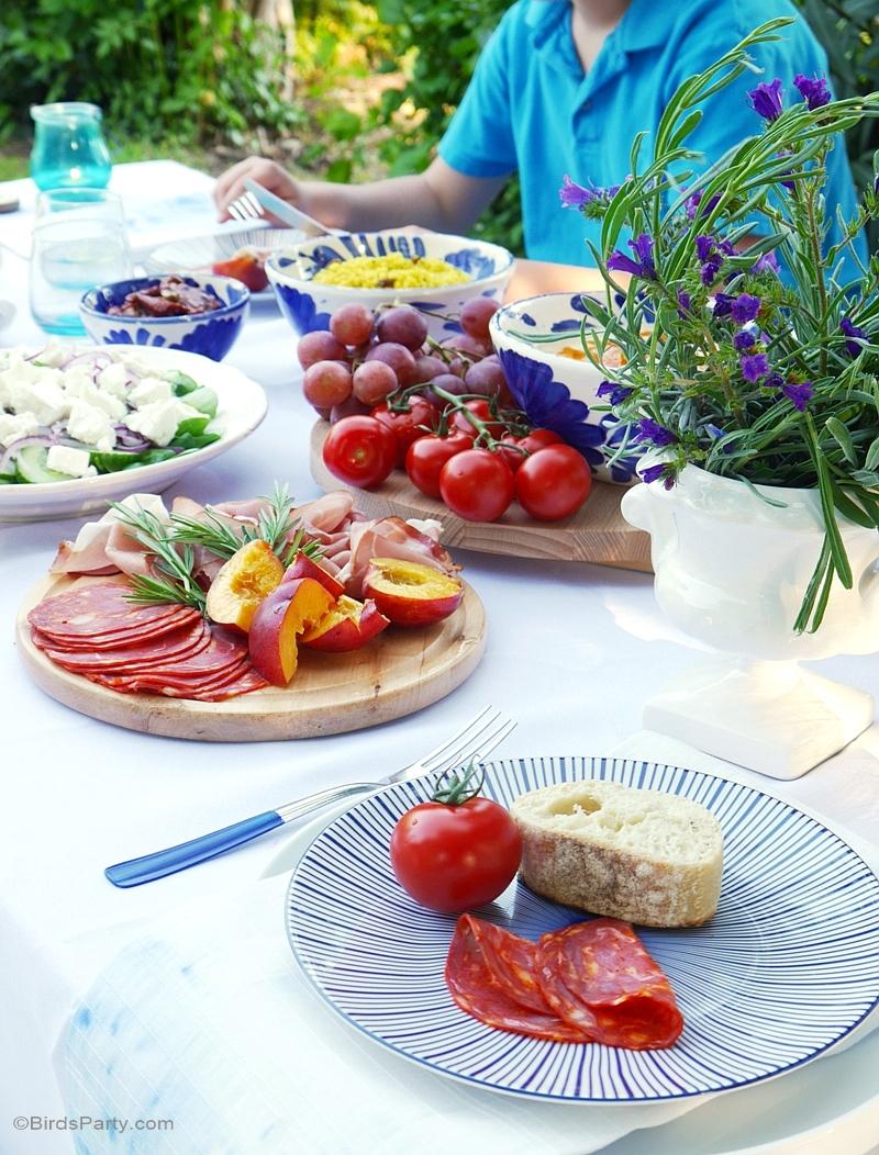 Mediterranean Party Decor - Home Decorating Ideas