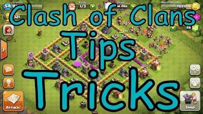 tips dan trik clash of clans