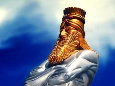 Resultado de imagem para estatua de nabucodonosor