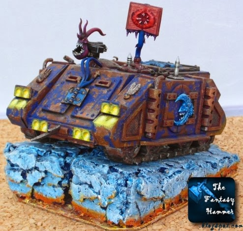 Chaos Space Marines Rhino of Tzeentch