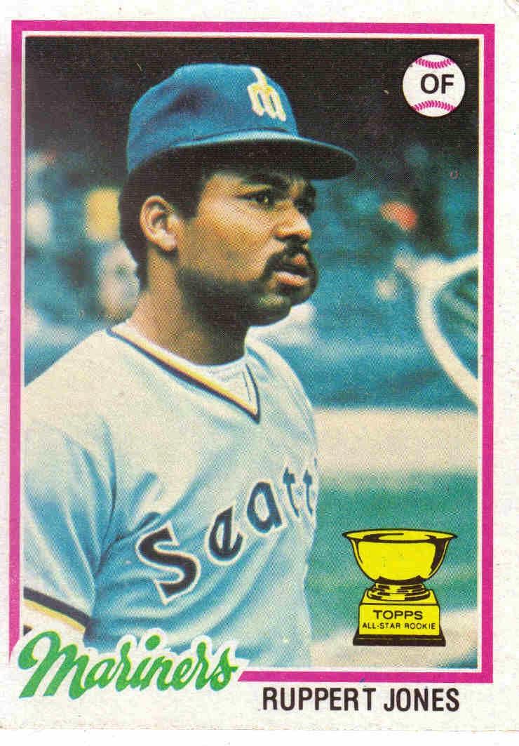 1978 Baseball 1978 Topps Baseball 141 Ruppert Jones