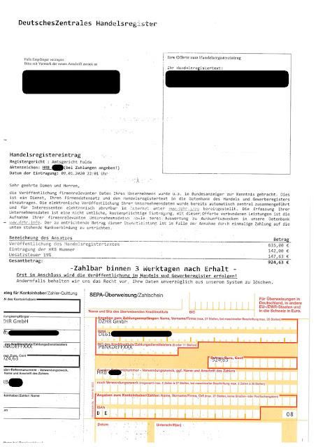 Scan: Offerte DZHR GmbH / Jan 2020