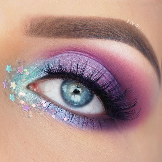 Bright and Bold Colorful Makeup Ideas and Inspiration