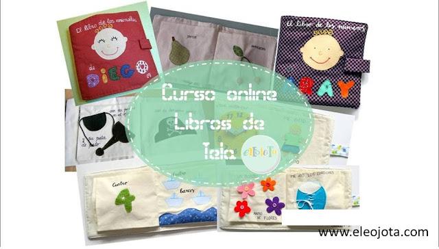 curso online libros de tela