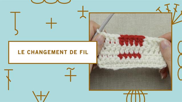 comment changer de couleur ou de fil au crochet