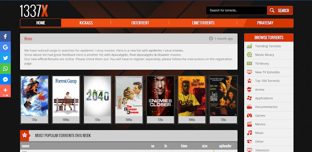 Torrent Websites For Hollywood Movies