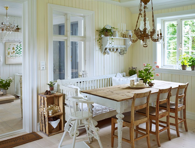 Idee da copiare shabby chic interiors for Sedie svedesi design