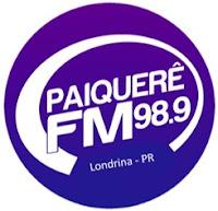 Rádio Paiquerê FM 98,9 de Londrina PR