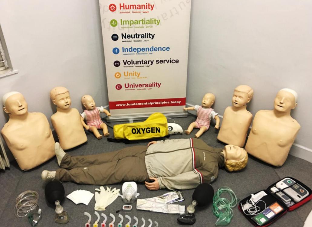 Ξάνθη: Πρόγραμμα πρώτων βοηθειών από τον Ερυθρό Σταυρό