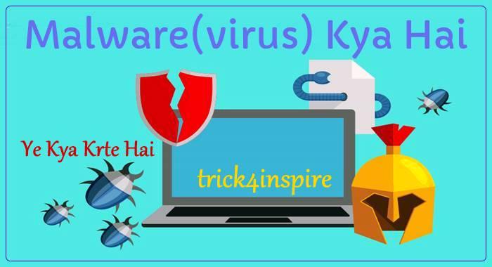 Malware(virus) Kya Hai