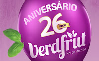 Aniversário 26 Anos VerdFrut Hortimercado aniversarioverdfrut.com.br