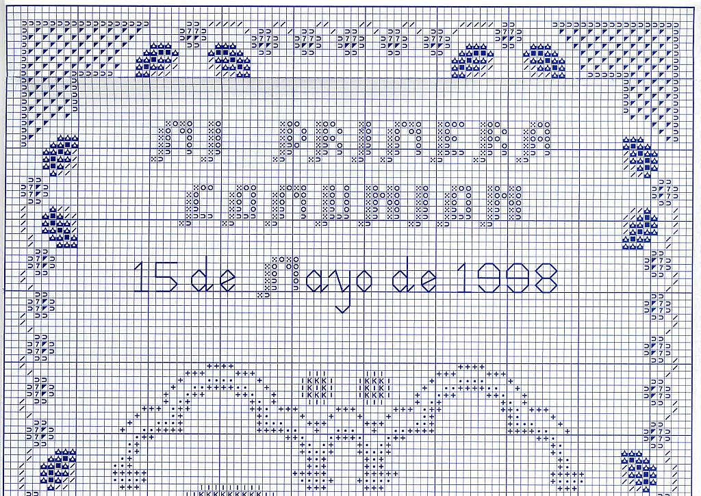 GRAFICOS PUNTO DE CRUZ GRATIS : PRIMERA COMUNION(31)BAUTIZO(3)