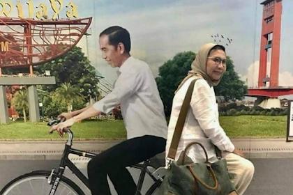 Viral Foto Dibonceng 'Jokowi' Naik Sepeda, Ini Kata Ratna Sarumpaet