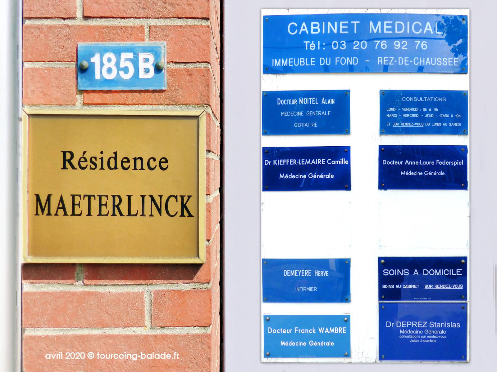 Cabinet Médical Calmette, Tourcoing, 2020