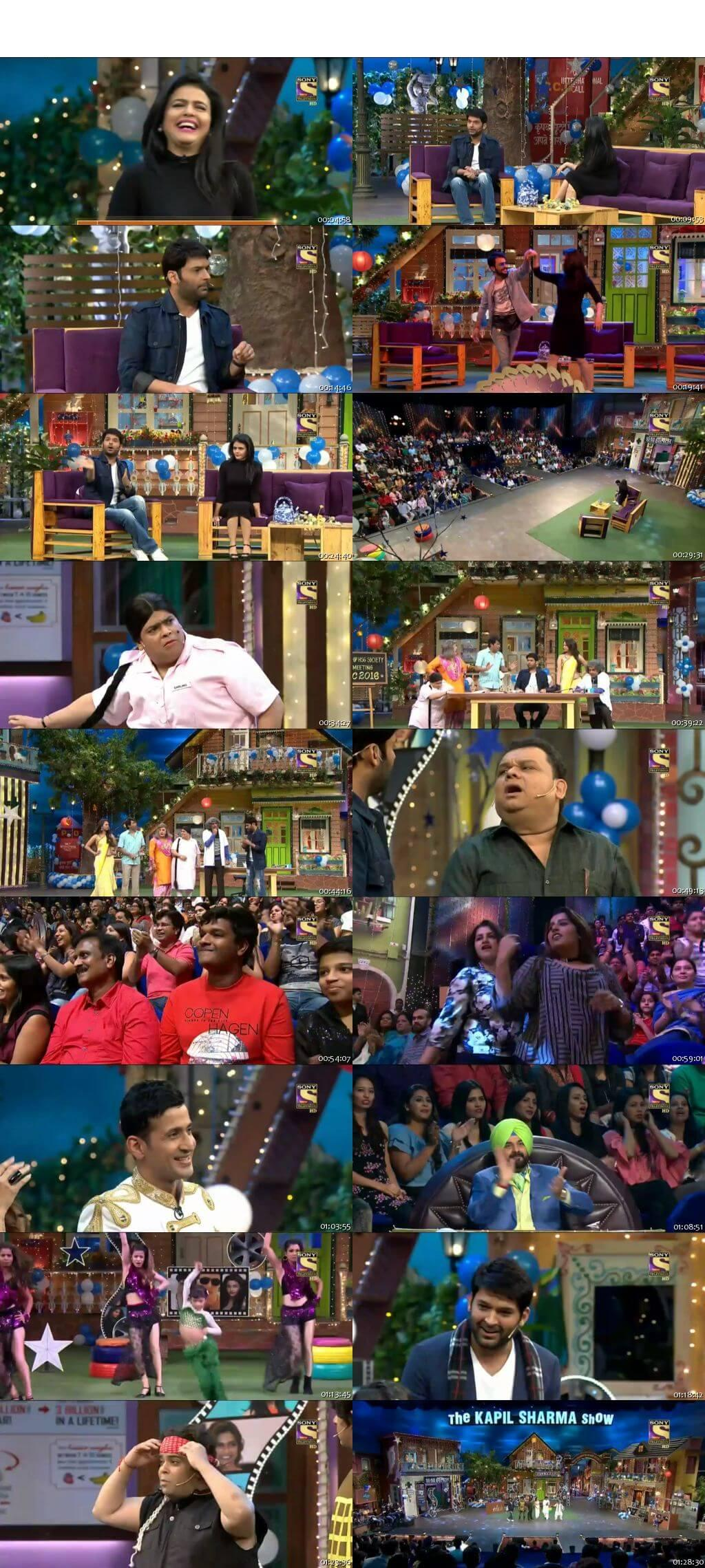 Screen Shot Of The Kapil Sharma Show 31st December 2016 Episode 70 300MB Watch Online
