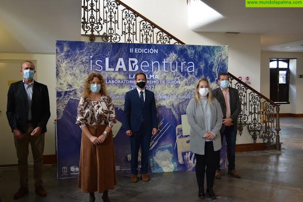 El laboratorio extremo de guion isLABentura logra el respaldo de la plataforma online internacional Filmarket Hub