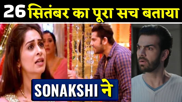 Rayma gives Rohit's hand in Sonakshi's hand uniting Rohit in Kahan Hum Kahan Tum