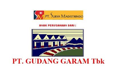 Lowongan Kerja PT. Surya Madistrindo ( PT. Gudang Garam Tbk ) Menerima Karyawan Baru Penerimaan Seluruh Indonesia