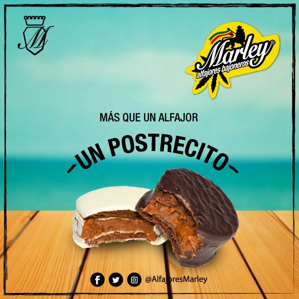 Alfajor Uruguaio Marley