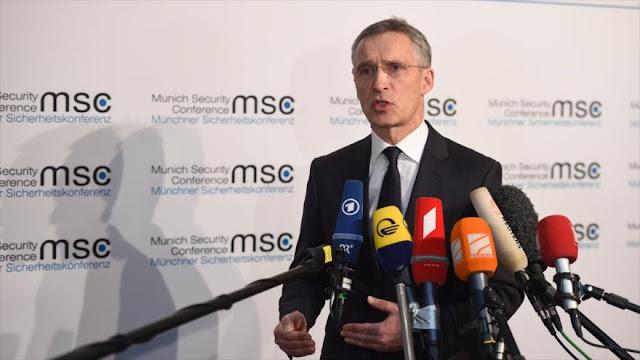 Jefe de OTAN alerta del peligro de la 'carrera nuclear' de Rusia