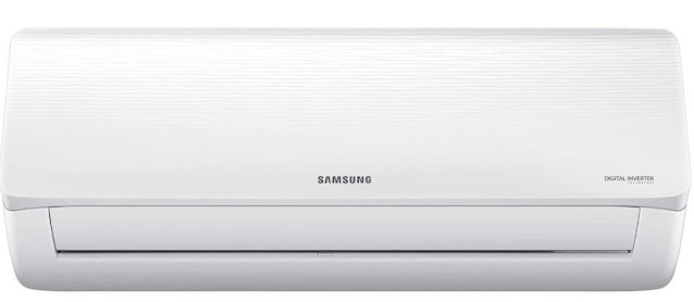 Samsung 1.5 Ton 5 Star Inverter Split AC (Copper, AR18TY5QAWK, White)